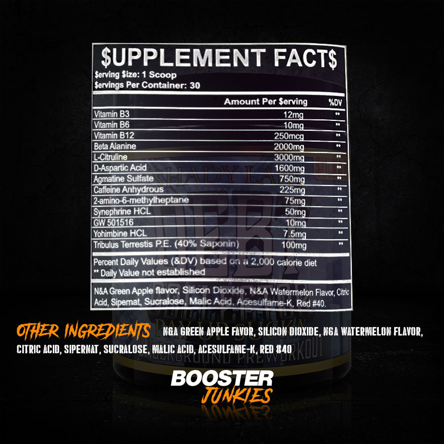 Supplement Facts Debt Collector